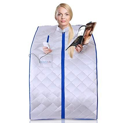 SERENELIFE PORTABLE INFRARED SAUNA REVIEW