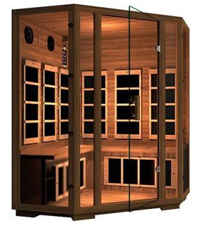 JNH Lifestyles Freedom Canadian Western Red Cedar 4 Person Corner Far Infrared Sauna Review