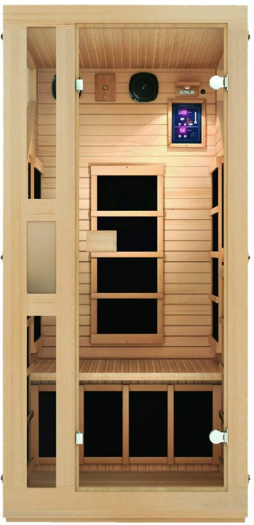 ​JNH Lifestyles NE1HB1 Review – Best 1 person infrared sauna